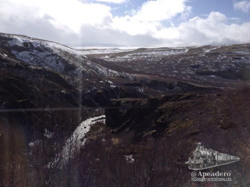 Las vistas desde arriba de Glymur son de las que quitan el hipo.