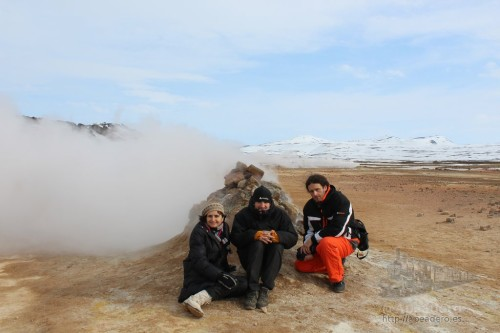 Una jornada que transcurrió entre el paisaje lunar del Namaskard y la espectacularidad de Dettifoss.