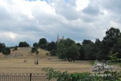 Este es el parque principal de Greenwich. En verano hay mucha gente que va a hacer deporte, tomar el sol, etc.