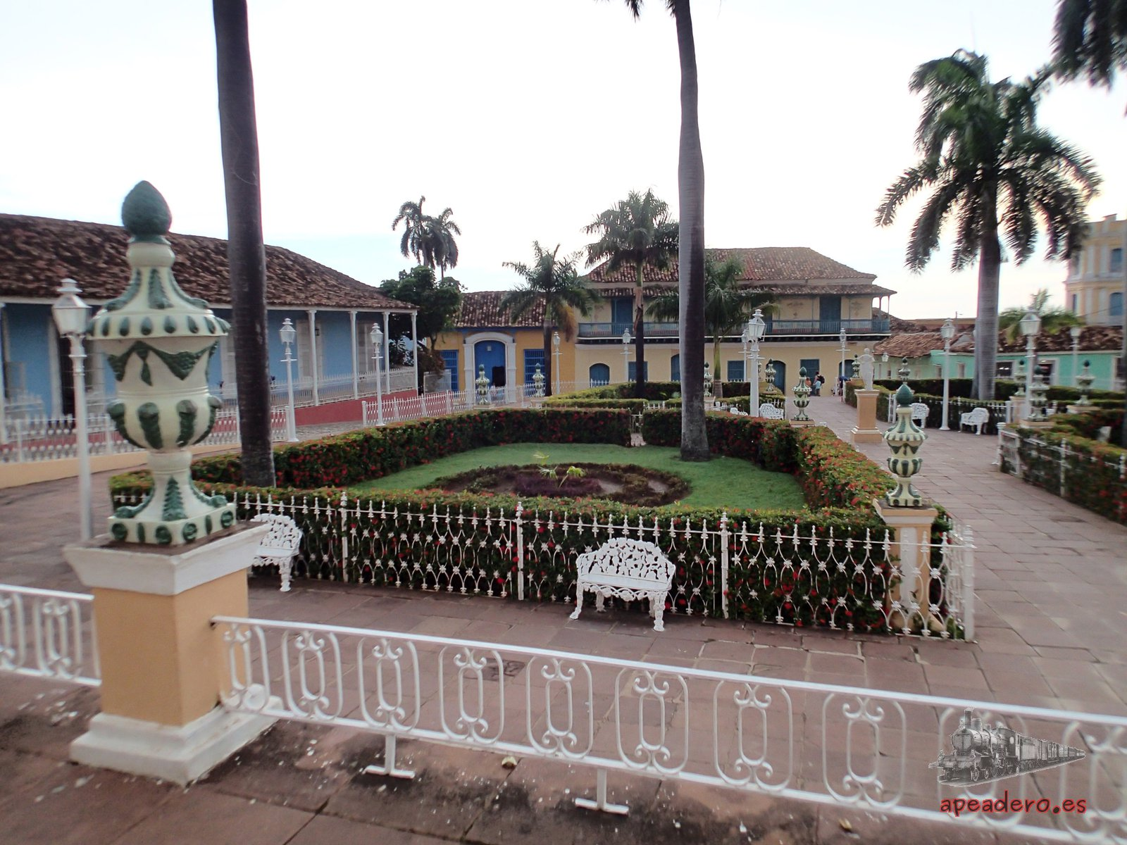 Los parques de Trinidad son otro atractivo de la ciudad.
