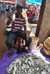 Los mercados de la zona se especializan en el pescado, pero no hay nada especial.