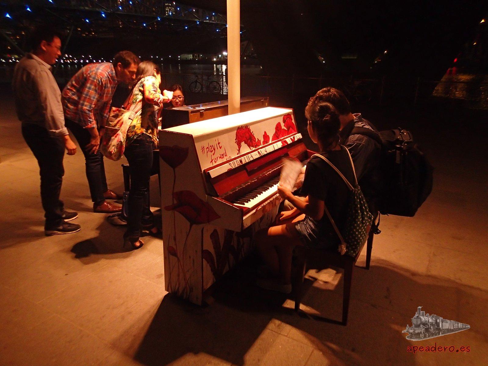 Pianos gratis en Singapur