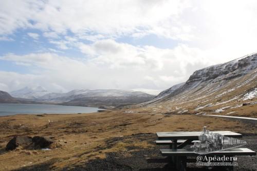 Las zonas de picnic abundan en Islandia a pesar del difícil clima que tienen.
