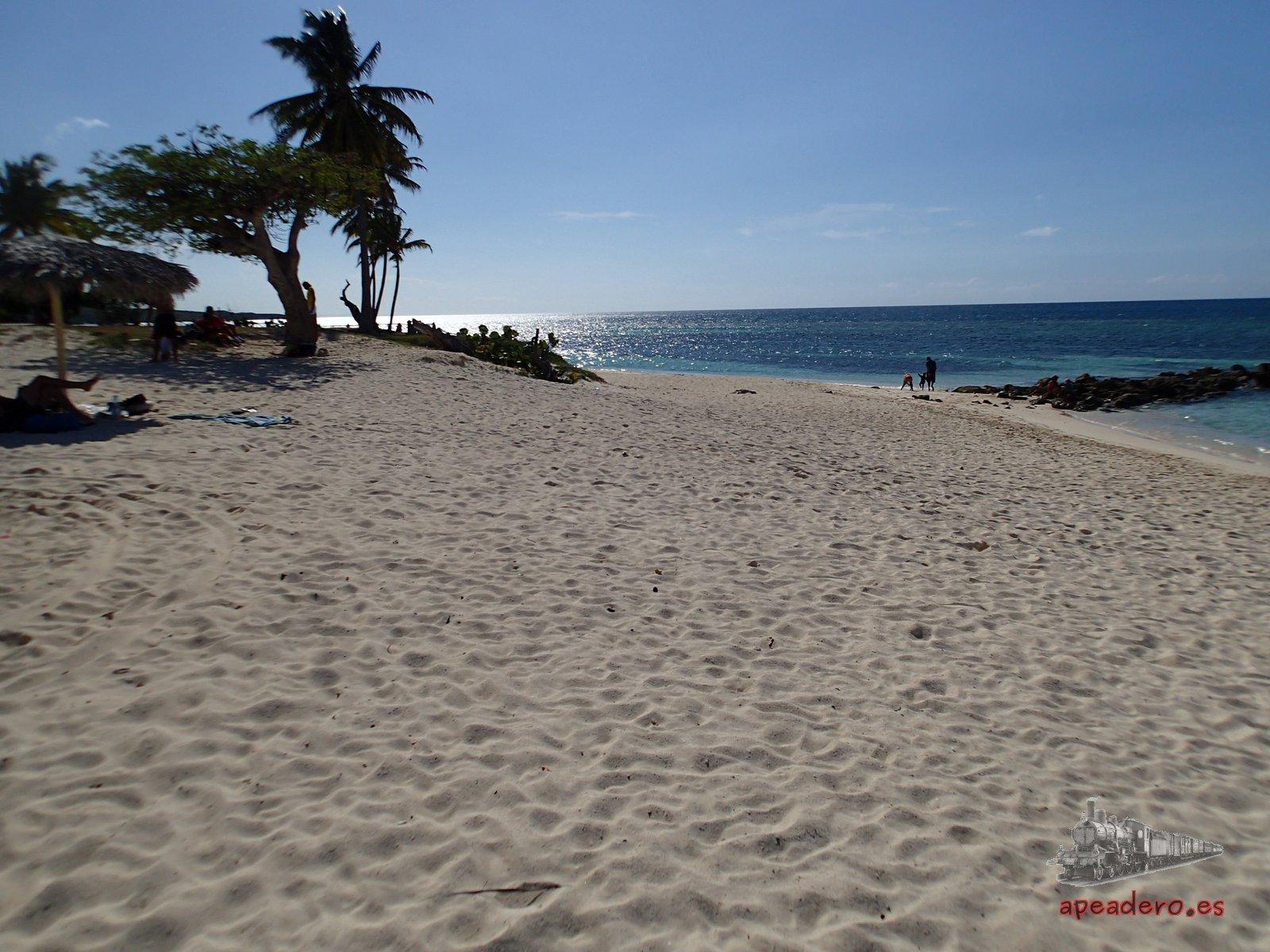 Guardalavaca es probablemente es la playa que más nos gustó de todas las que visitamos.