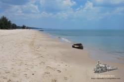 Songkhla es un lugar de playas paradisíacas, enormes y poco visitadas por los turistas.