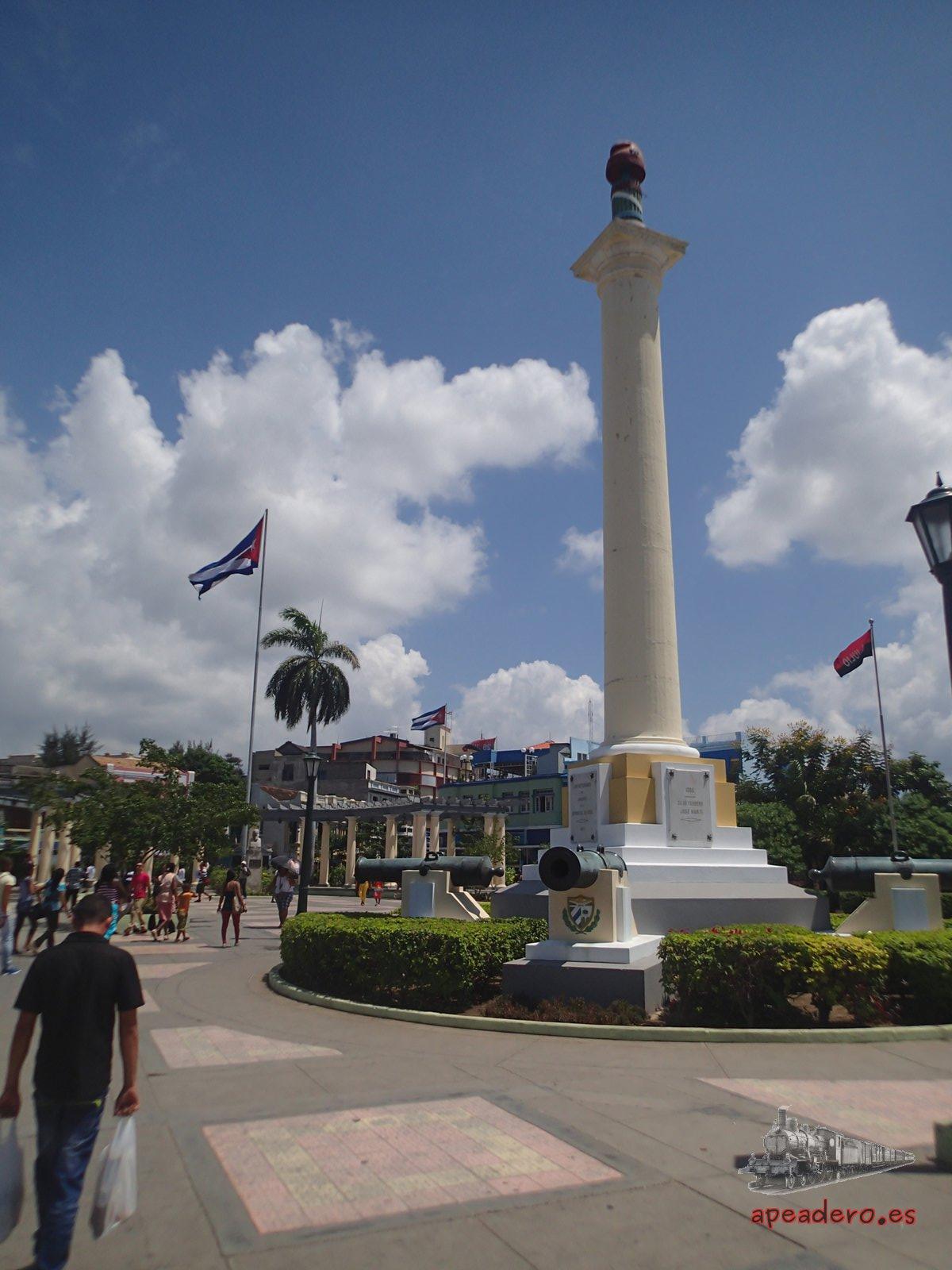 Plaza de Marte en Santiago de Cuba viajando por libre
