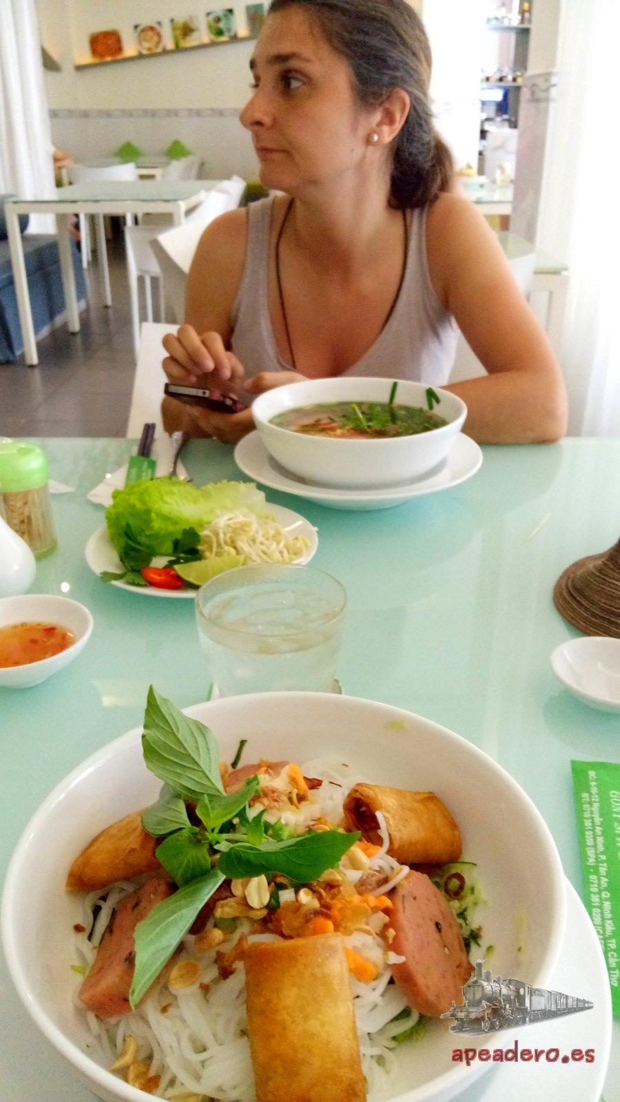 Experiencia gastronómica en el Mekong