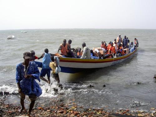 No sabemos renunciar a una aventura como cuando cruzamos en una patera el delta del Sine Saloum