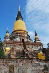 Ayutthaya es impresionante, una visita imprescindible.