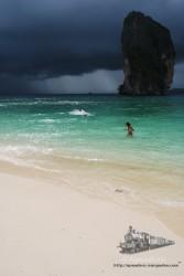 Esta es la tormenta que temía nuestra compañera de viaje.
