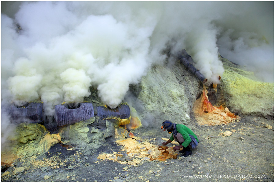 Un viajero curioso - Volcan Ijen Indonesia