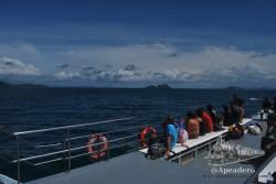 También se puede ir a Phi Phi en long-tail, pero la comodidad del ferry lo hace totalmente desaconsejable.