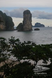 Las playas de Ao Nang son espectaculares todas ellas.