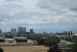 Las vistas desde la parte alta de Greenwich son muy interesantes.