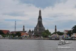 Wat Arun es precioso, pero caro, muy caro... y hay un palacio similar en Ayutthaya.