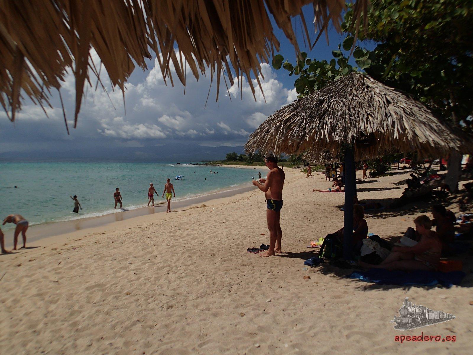 En Playa Ancon estuvimos muy, muy a gusto.