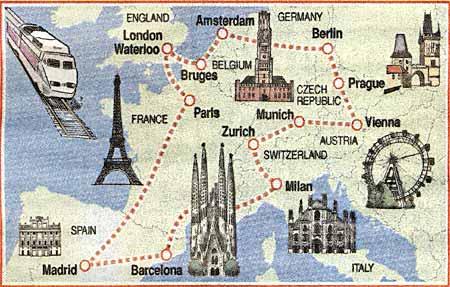 """¿Es un reto imposible la """"Vuelta a Europa: 50 países, 40 días""""?"""