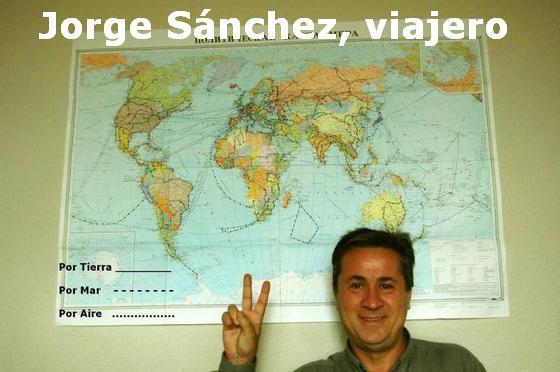 Jorge Sánchez, el friegaplatos que ha dado 6 vueltas al mundo