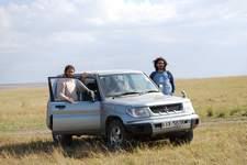 Poder viajar en tu propio 4x4 en Kenia no tiene precio.