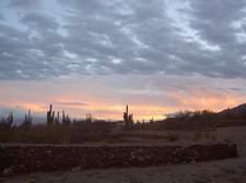 Atardecer en las Ruinas del Quilmes