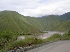 La quebrada ofrece unos paisajes sobrecogedores
