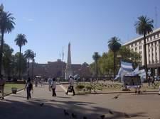 La Plaza de Mayo es el lugar dónde tienen lugar todas las manifestaciones y protestas de la ciudad.