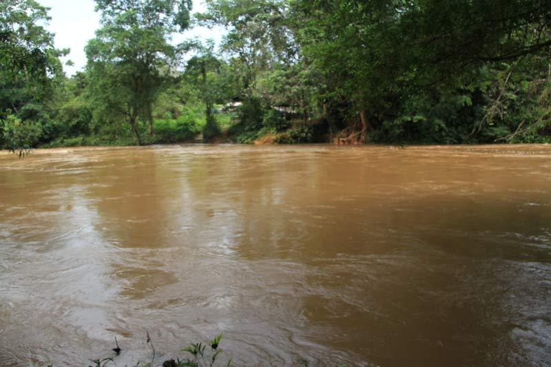 Rio San Cipriano crecido