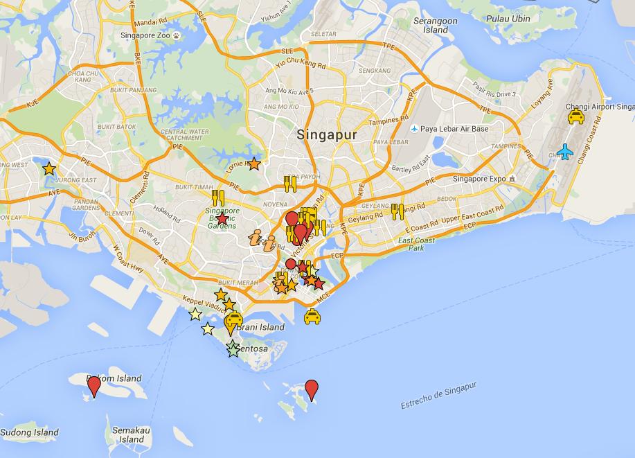 Singapur: puntos de interés