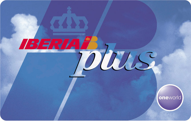 Tarjeta Clásica Iberia Plus con la que podremos acumular avios para volar casi gratis
