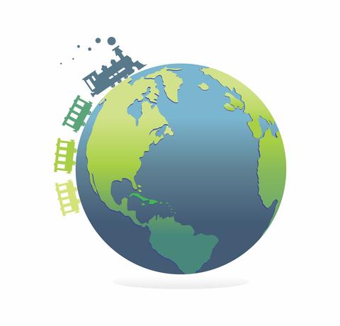 Logo de La vuelta al mundo en tren 2017 (vamt2017)