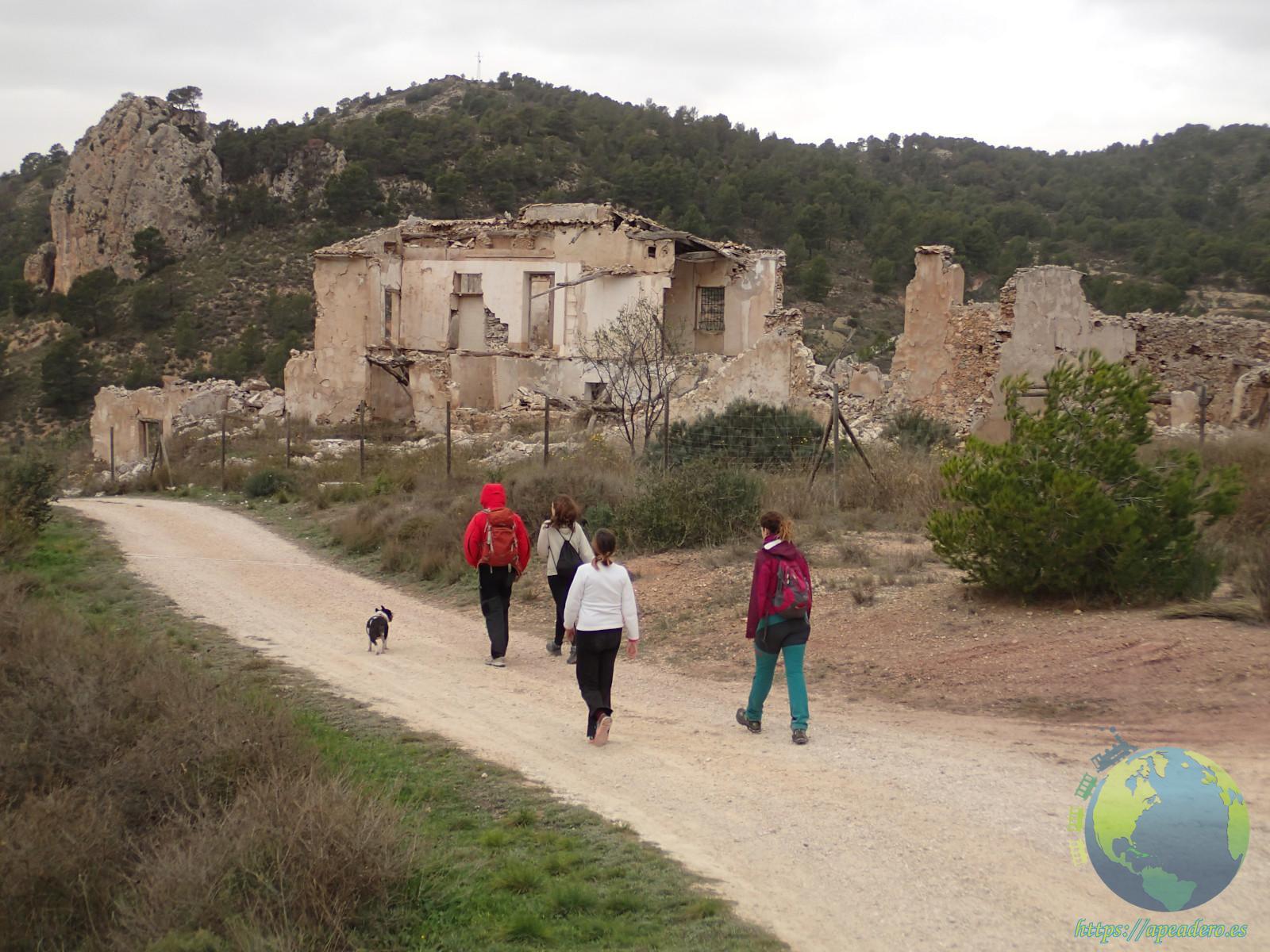 Caminata de viaje por Alicante.